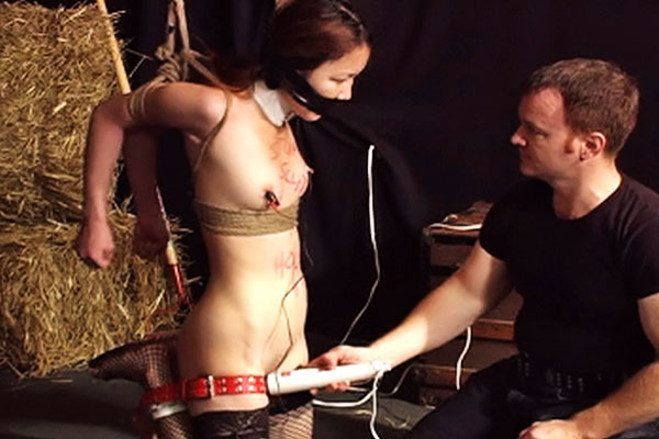 Bondage threesome  maxine x and scott have a fantastic time training bondage virgin fuk mi into a forced orgasm bitch. Maxine X and Scott have a fantastic time training bondage virgin Fuk Mi into a forced orgasm slut