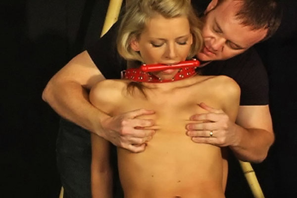 All tied up10  scott ties up his eager slave kristy and makes her cumshot using his favorite sex toy. Scott ties up his eager slave Kristy and makes her cum using his favorite sex toy