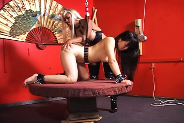 Yumi dildo have sex  maxine x whips attracting yumi and fucks her with a dildo. Maxine X whips cute Yumi and fucks her with a dildo